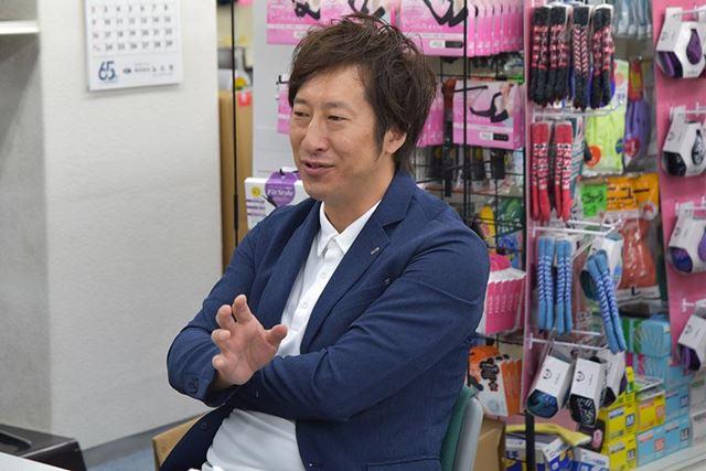 はるばる大阪からお越しいただいた、徳永智彦さん