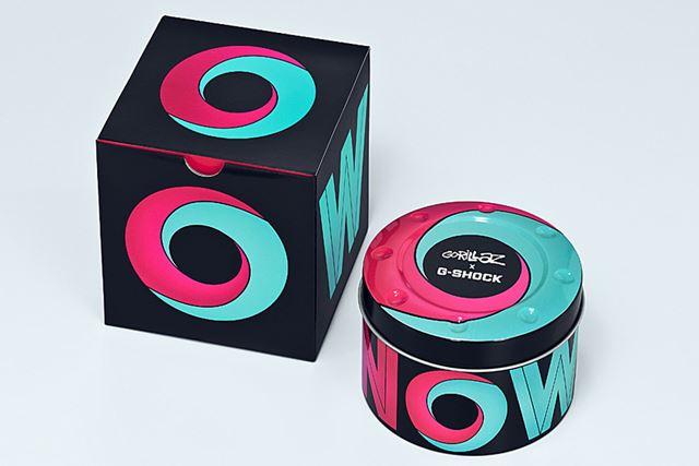 コラボモデルならではのパッケージデザインも、特別感を演出