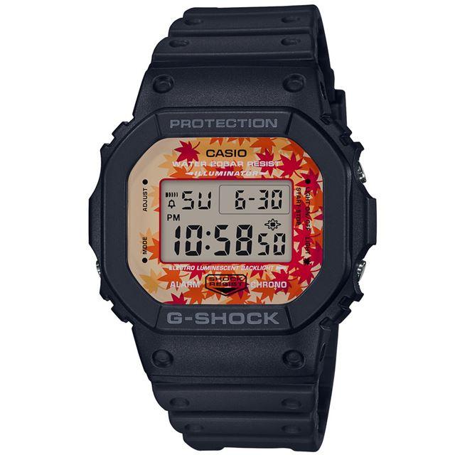 「DW-5600」をベースモデルに採用した「DW-5600TAL-1JR」(14,040円)