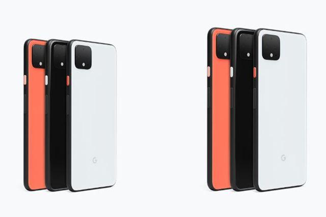 「Pixel 4」と「Pixel 4 XL」