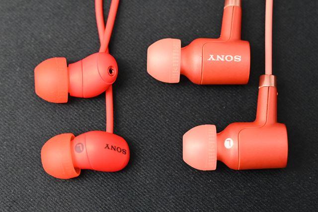 専用のノイズキャンセリングイヤホンは大幅なダウンサイジングを実現し、装着感が向上している