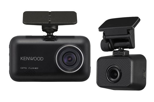 ケンウッドから、2カメラドライブレコーダーの新フラッグシップモデル「DRV-MR745」が発売される