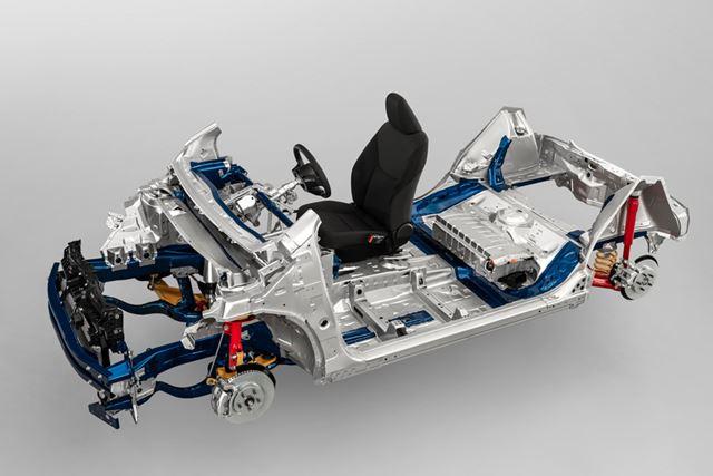 トヨタ 新型「ヤリス」に搭載されている新開発TNGAプラットフォーム「GA-B」