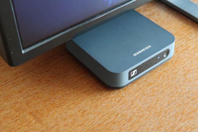 ゼンハイザーのaptX LL対応Bluetoothトランスミッター「BT T100」