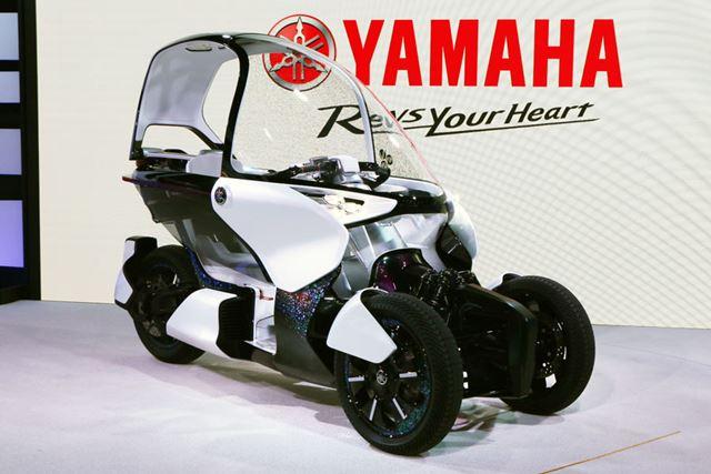 LMWのコンセプトと電動化への注力を象徴するコンセプトモデル「YAMAHA MW-VISION」