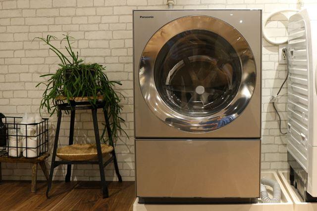 「Cuble NA-VG240」の容量(洗濯・脱水/乾燥)は10kg/5kgで、市場想定価格は32万円前後(税別)