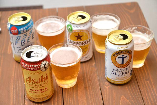 機能で選ぶか、味で選ぶか・・・・・・。ノンアルコールのビールテイスト飲料は今後さらに盛り上がりそう!