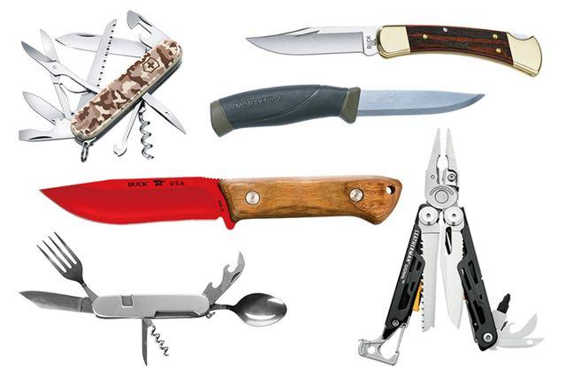 人気のアウトドアナイフを6本紹介