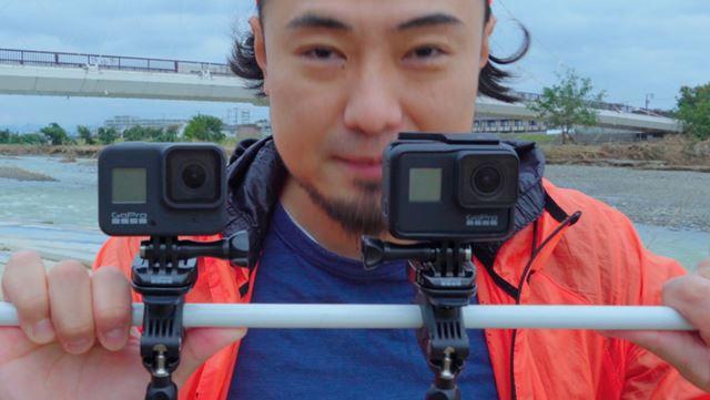GoPro「HERO 8」と「HERO 7」を比較