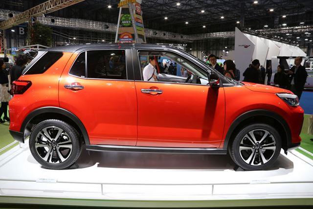 全長は4mと、トヨタ「アクア」よりも短いという新型コンパクトSUV