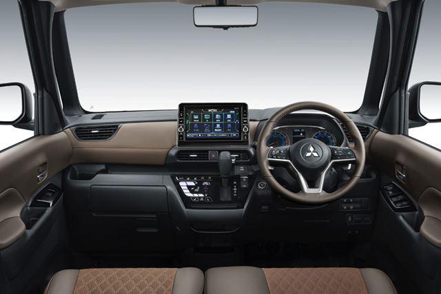 三菱「スーパーハイト軽ワゴンコンセプト」のインテリア