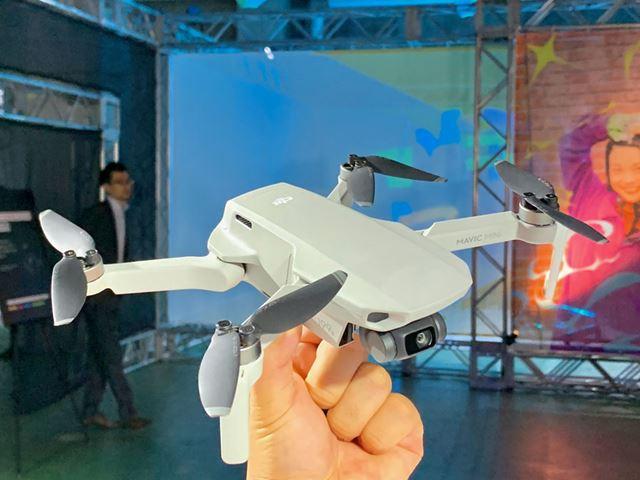 航空法が定める「小型無人機」を1g下回る重量の「Mavic Mini」