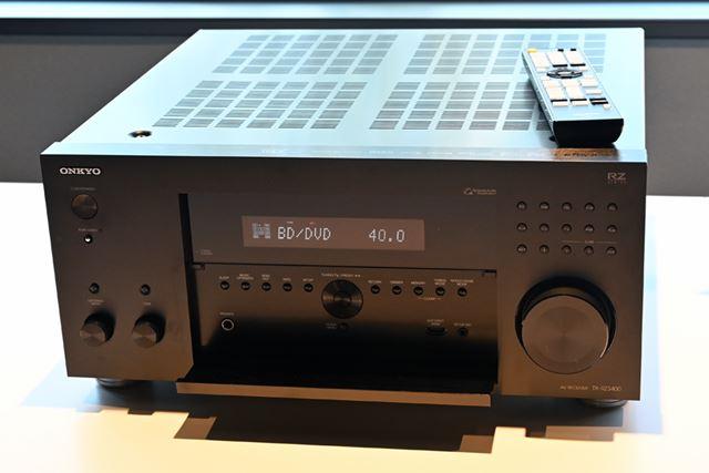 オンキヨーAVレシーバー「TX-RZ3400」(日本未発表製品)