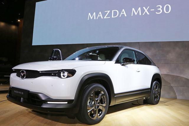 欧州ではすでに予約受注を開始しているという、マツダ初の市販EV「MX-30」