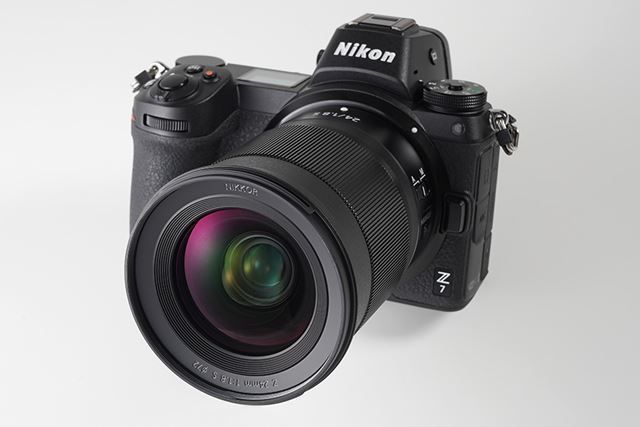 今回、フルサイズミラーレス「Z 7」を使用して、NIKKOR Z 24mm f/1.8 Sの描写力をチェックした