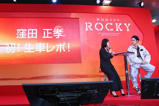 窪田正孝さんが、人生初となる「車レポ」に挑戦した