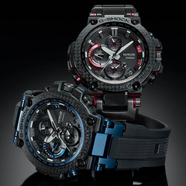 「MTG-B1000XB-1AJF」(左)と「MTG-B1000XBD-1AJF」右。各145,800円