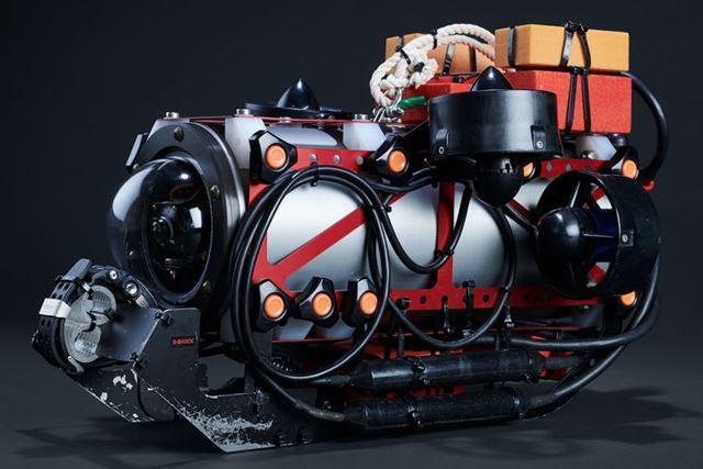 南極調査用の小型水中無人探査機「ROV」
