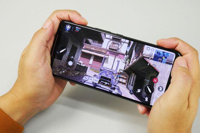 ゲーム最優先で開発されたASUS「ROG Phone 2」