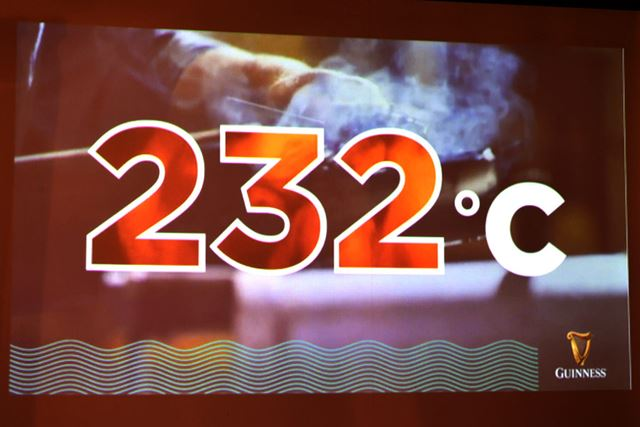 焙煎温度の232℃は、それよりも低いと味わいが劣り、高ければ大麦が燃えてしまうという絶妙な値だそう