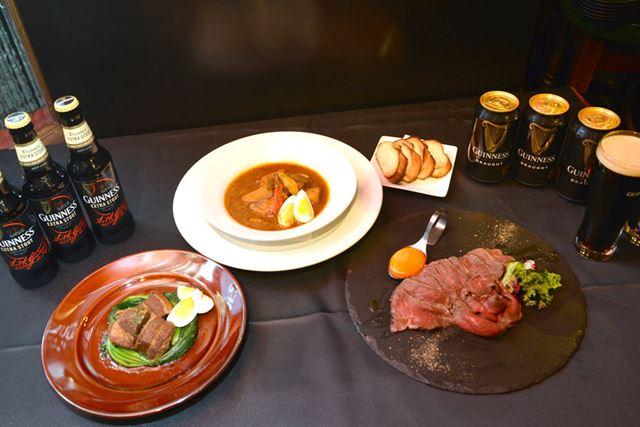 セミナーではローストビーフ、豚角煮、スープカレーなどを堪能