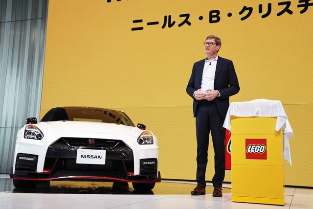 レゴグループCEOのニールス・B・クリスチャンセン氏