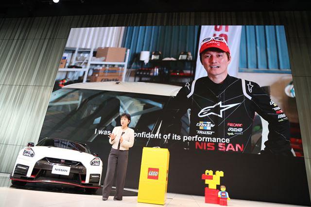 「NISSAN GT-R NISMO」のレゴが誕生したきっかけは、2016年のドリフト世界最速記録の達成と言う