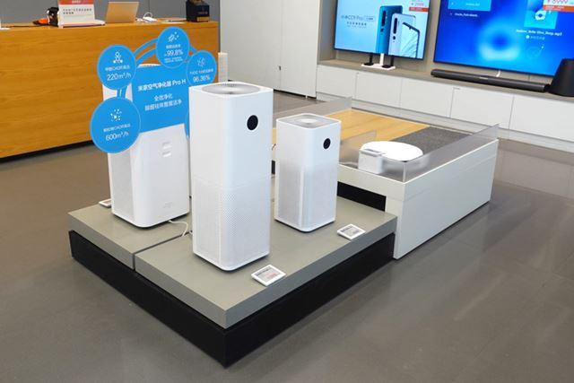 空気清浄機やロボット掃除機も、引き続き人気のようだ