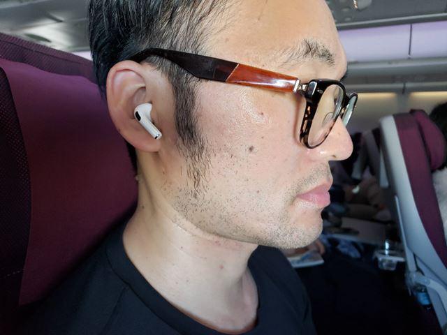 「AirPods Pro」は飛行機で想像以上のノイズキャンセリング効果を発揮