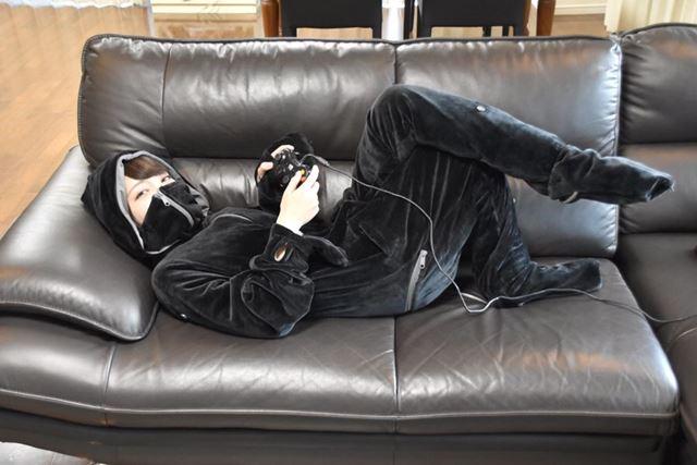 これで、寝落ちしてカゼを引く心配がなくなるかも!? お正月は思う存分、ゲームに没頭しましょう!