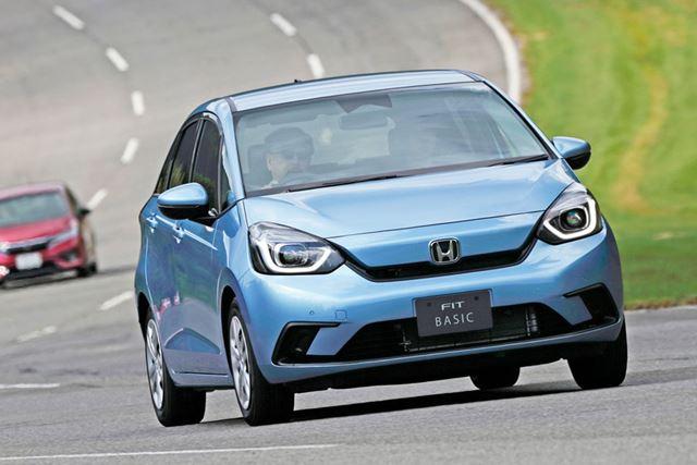 2020年2月に発売予定のホンダ 新型「フィット」を、クローズドコースで試乗する機会が得られた