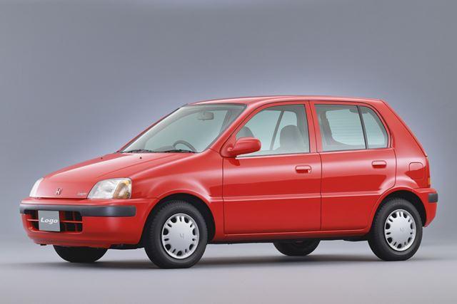1996年に「シティ」の後継車種として登場したホンダ「ロゴ」(初代)