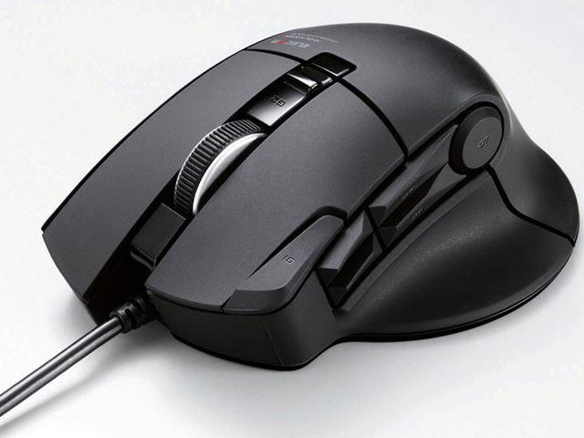 エレコムのMMORPG向けゲーミングマウスシリーズ「DUX」のエントリーモデル