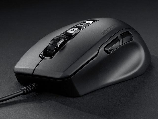 使いやすさと軽さからゲーム業界で注目を集めているドイツ発ゲーミングブランドROCCAT製マウス
