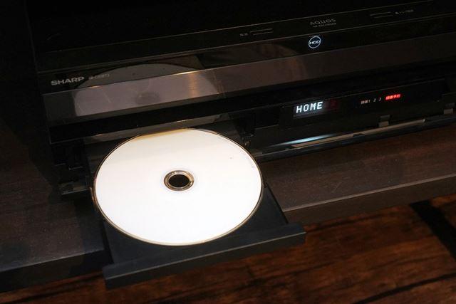 4K放送の保存でも使うのは従来と同じBD-Rメディア