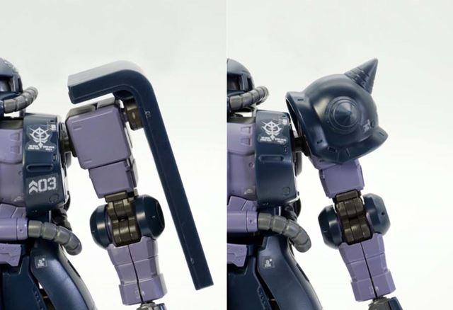 左がガイア専用機、右がマッシュ専用機