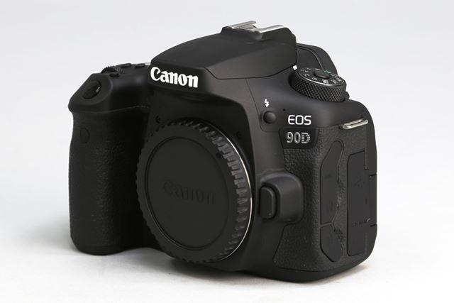 3,250万画素のCMOSセンサーを搭載したAPS-Cデジタル一眼レフカメラ、キヤノン「EOS 90D」
