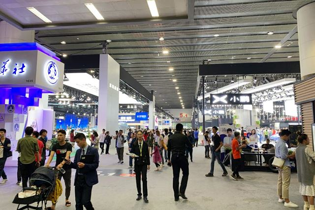 中国の広州で11月22日〜12月1日に開催された「広州モーターショー」