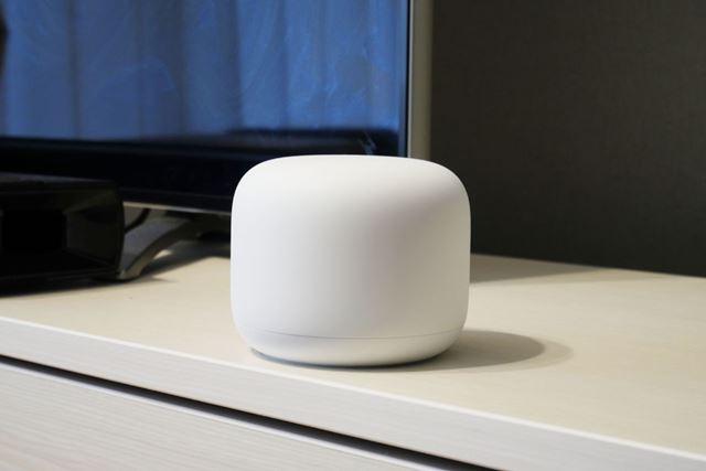 無線LANルーターには見えないデザインの「Google Nest WiFi」