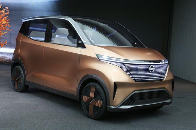 東京モーターショー2019に出展された、日産「Imkコンセプト」