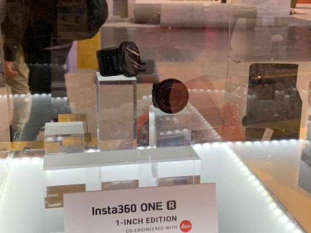 アメリカで開催された家電見本市「CES 2020」で展示されていた「Insta360 ONE R 1インチ版」