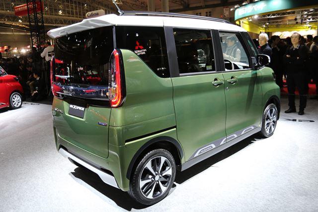 東京オートサロン2020で市販モデルが公開された、三菱 新型「eKクロススペース」