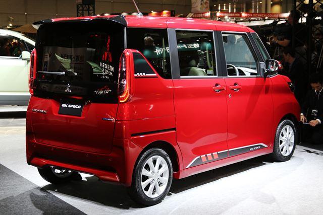 東京オートサロン2020で初公開となった、三菱 新型「eKスペース」