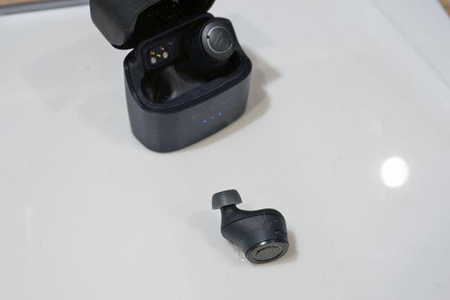 オーディオテクニカのノイズキャンセリング対応完全ワイヤレスイヤホン「ATH-ANC300TW」