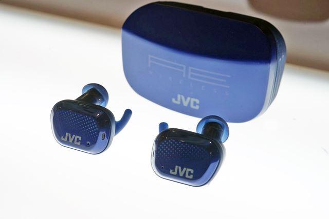 JVCのスポーツ用完全ワイヤレス「HA-AE5T」
