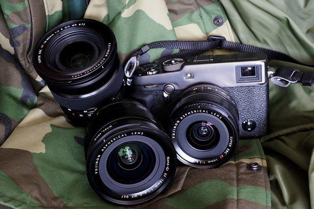使用したレンズは「XF16mmF1.4 R WR」と「XF14mmF2.8 R」、「XF16-80mmF4 R OIS WR」の3本だ