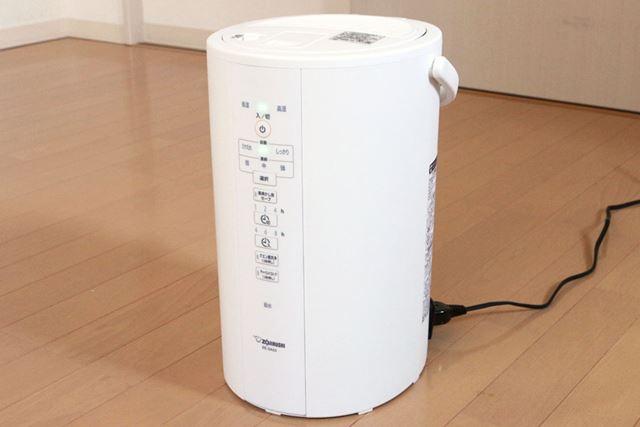 従来モデルやほかのサイズに比べて、「電気ポットっぽさ」が払拭されている最新モデル「EE-DA50」