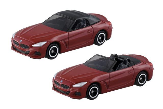 2020年1月18日に発売されるトミカNo.74「BMW Z4」は、ソフトトップの脱着が可能となっています