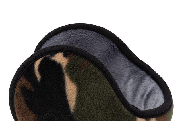 耳に直接触れる内側部分は、毛足のあるフリース素材を採用しており、肌触りがいい
