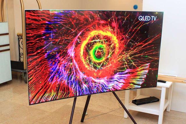 サムスンが強力に訴求した「QLED TV」シリーズ
